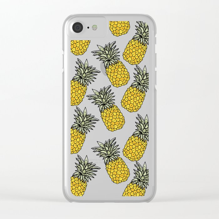 Pineapple iPhone case, Pattern, Gift, For her, For him, Cute, Phonecase