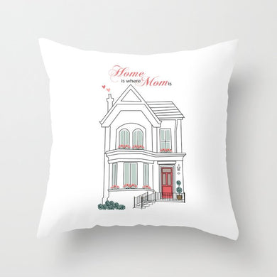 mother's day, pillow, gift, house, home, mom, for her, home decor, interior design, decor, shop, sale