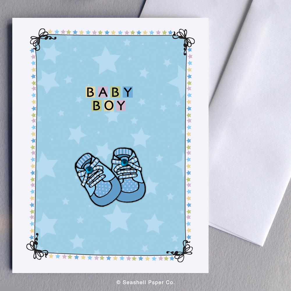 New baby boy shoes Wholesale (Package of 6) - seashell-paper-co