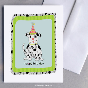 Birthday Dog Card - seashell-paper-co