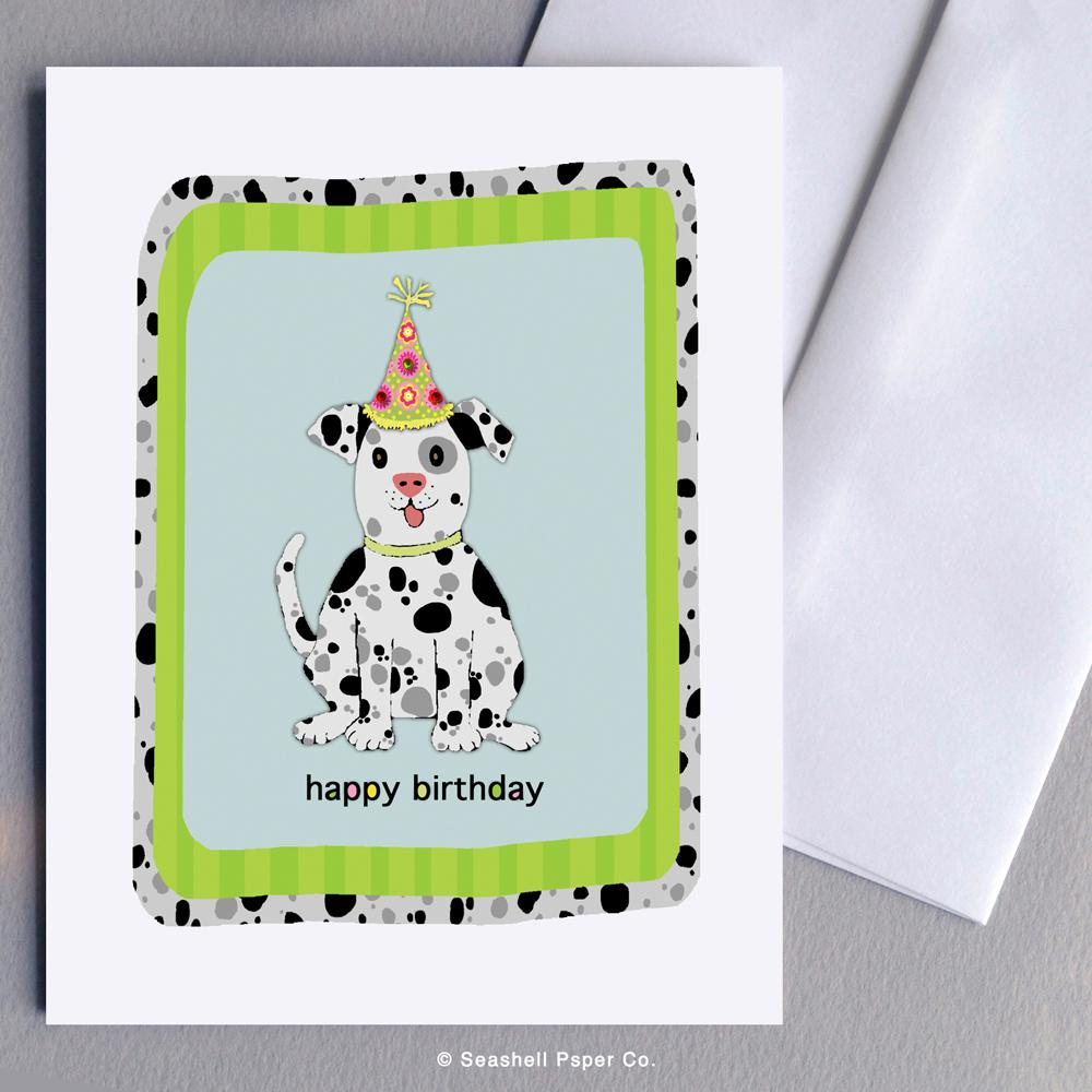 Birthday Dog Card Wholesale (Package of 6) - seashell-paper-co
