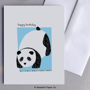 Birthday Panda Card - seashell-paper-co