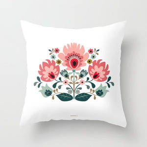Floral Premium Pillow - seashell-paper-co