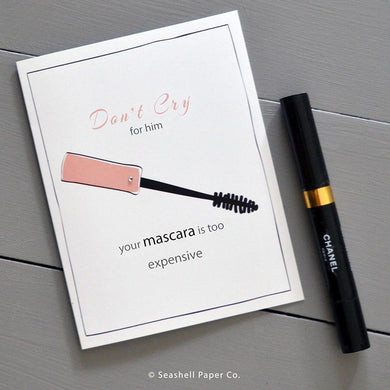Brake Up Mascara Card Wholesale (Package of 6)