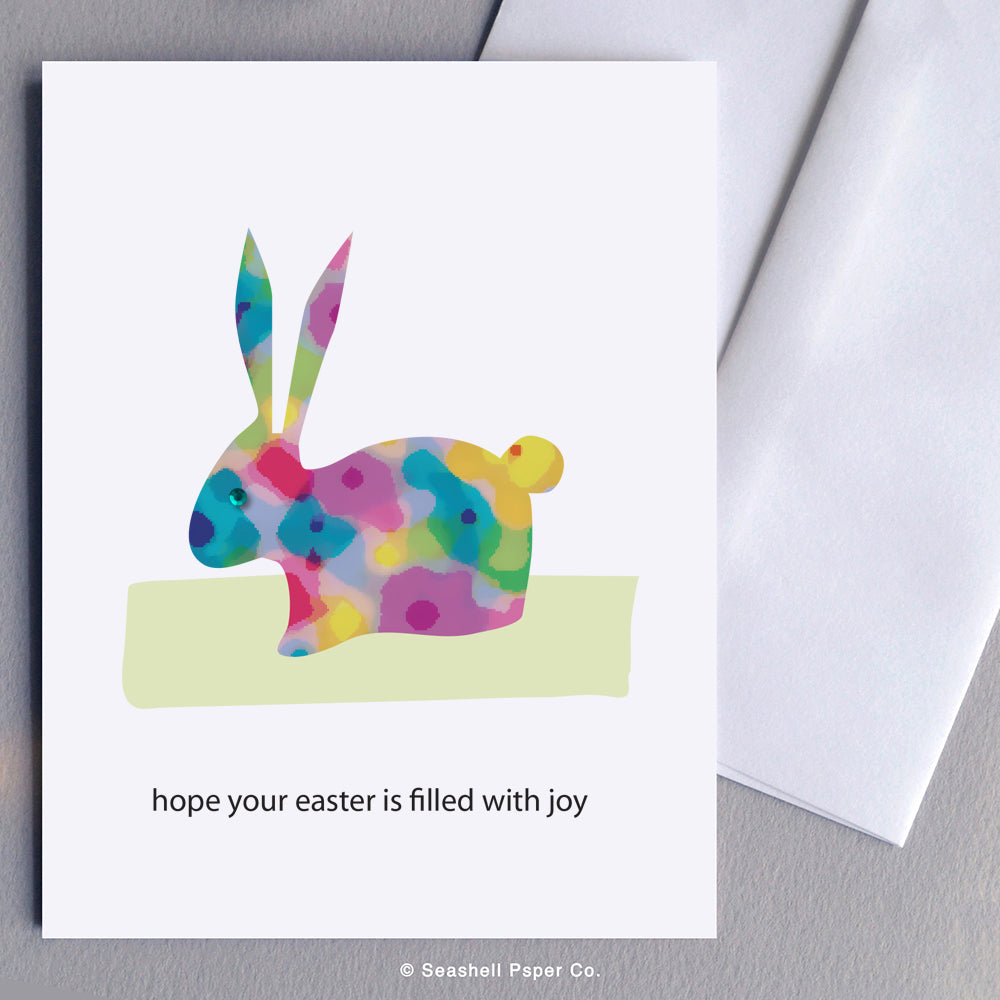 Easter Bunny Card - seashell-paper-co
