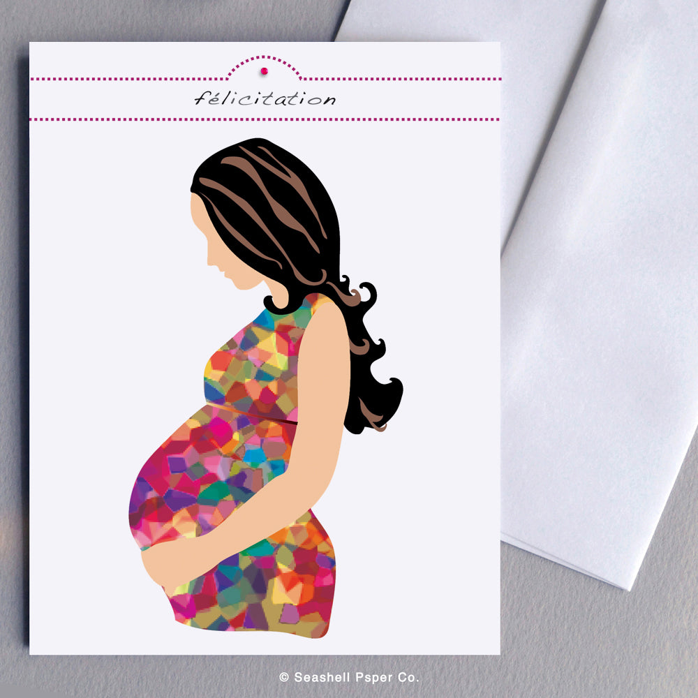 French New Baby Card - seashell-paper-co