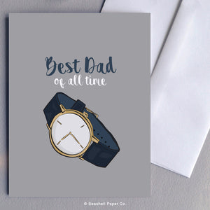 Dad Watch Card - seashell-paper-co