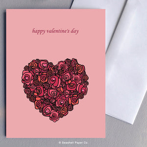 Love Valentine' s Day Card - seashell-paper-co