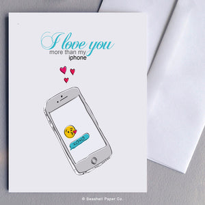 Love iPhone Card - seashell-paper-co