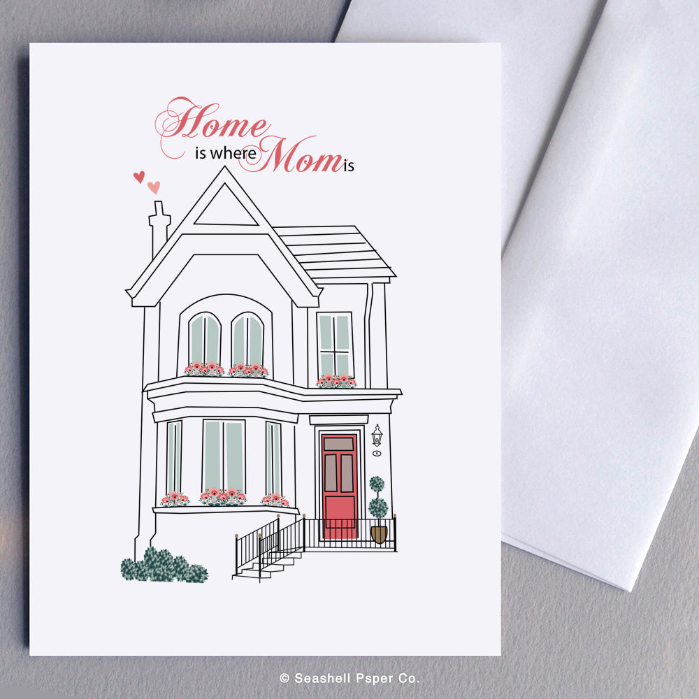 Mother's Day House Card - seashell-paper-co