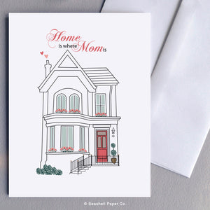 Mother's Day House Card Wholesale (Package of 6) - seashell-paper-co