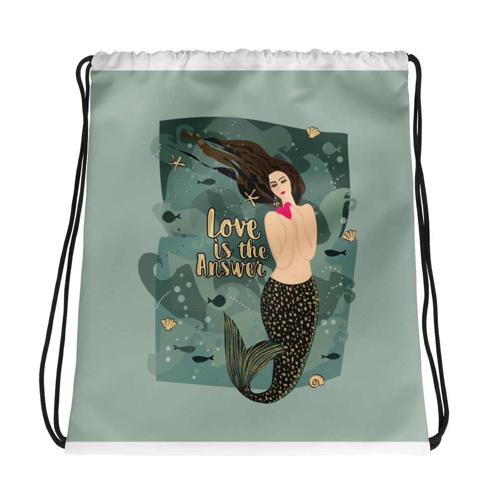 Drawstring bag - seashell-paper-co