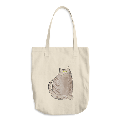 Cat Tote Bag - seashell-paper-co
