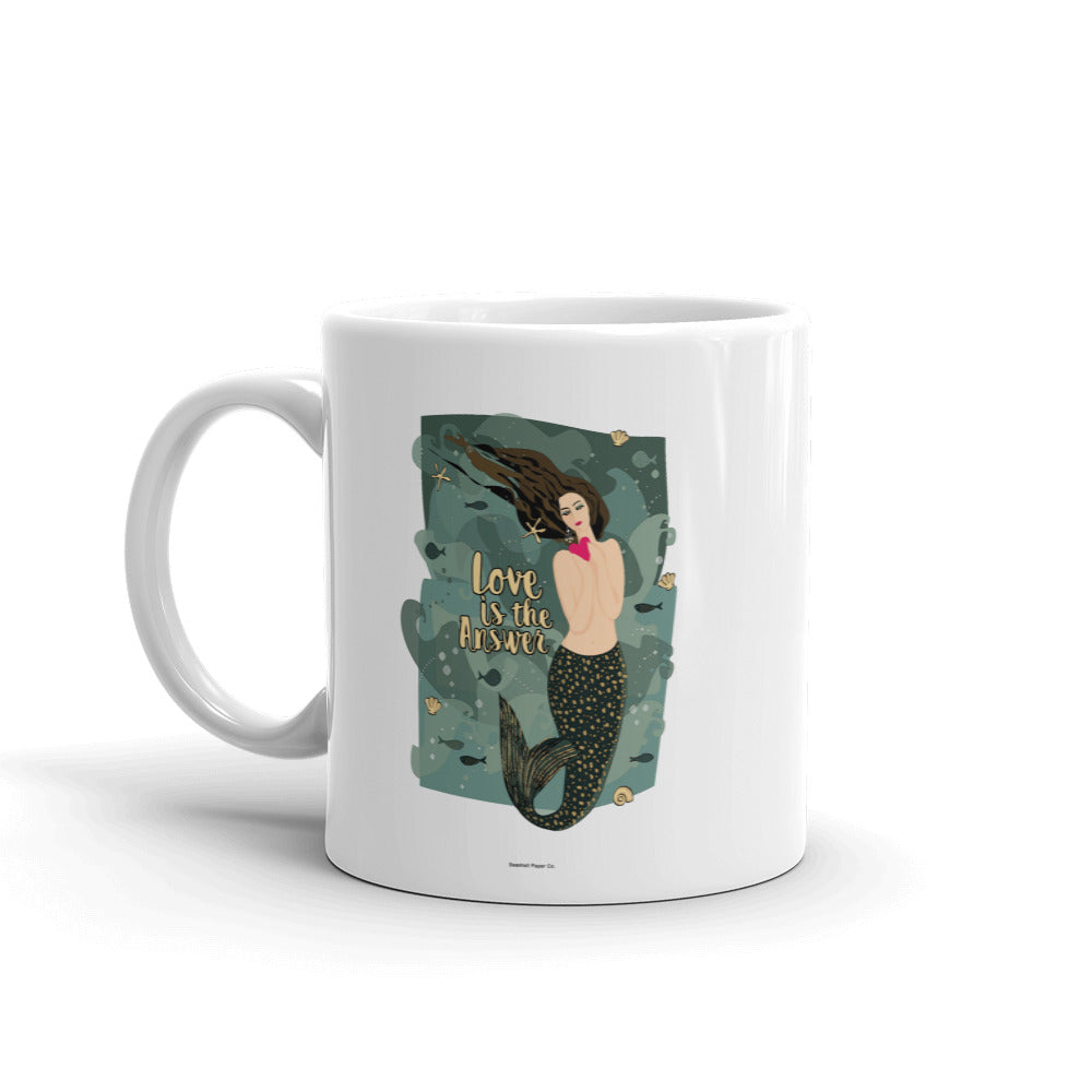 Mermaid Coffee Mug - seashell-paper-co