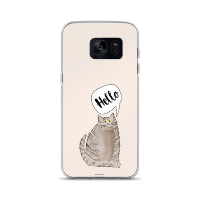 Hello Cat Samsung Case - seashell-paper-co