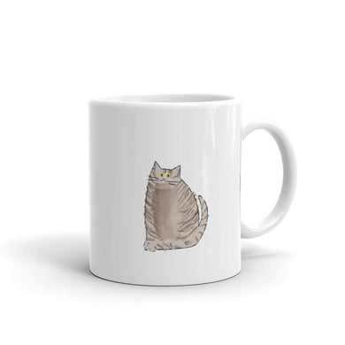 Cute Cat Coffee Mug - seashell-paper-co