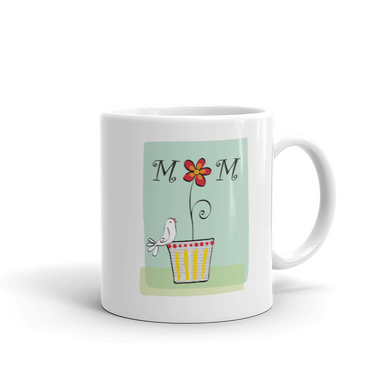 Mother's Day, gift, house, home, mom, for her, home decor, mom, decor, shop, sale , CeramicDishwasher and microwave safeWhite and glossyPrinted in USAYou can personalize this mug at no additional cost, send us a note with your request.