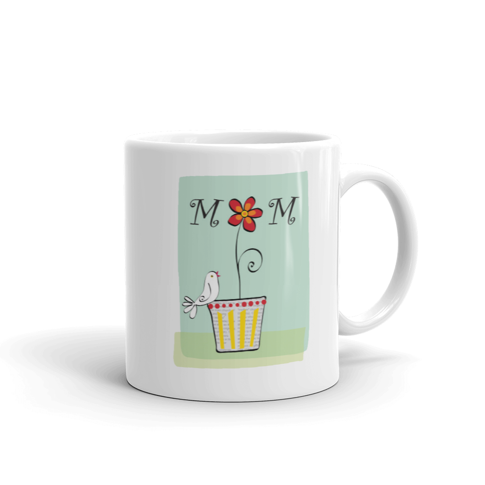 Mom Coffee Mug - seashell-paper-co