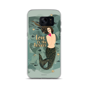 Mermaid Love Samsung Case - seashell-paper-co