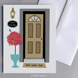 New Home Front Door Card Wholesale (Package of 6)