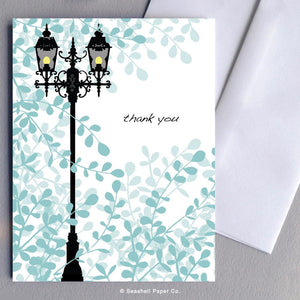 Lamp Post Thank You Card