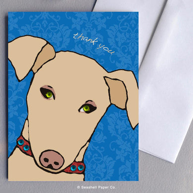 Thank You  Doggie Card Wholesale (Package of 6) - seashell-paper-co