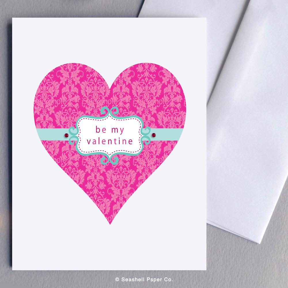 Heart Shaped Valentine's Day Card