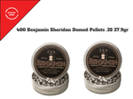 Benjamin Sheridan 2 packs Domed Pellets .25 27.9gr  400 Pellets