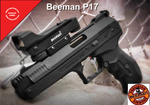 Beeman P17 Deluxe Air Pellet Pistol with Red Dot 410 FPS with no CO2 Needed!