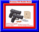 2 Crosman C11  BB Gun Kit - Quality + Value = More Fun- Great Package Brand New