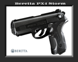 🔥Umarex Beretta PX4 Storm .177 Pellet/BB Gun Blowback Action Co2 ⭐⭐⭐⭐⭐