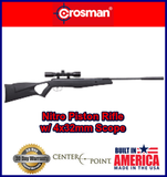 Crosman Nitro (NP) Break Barrel Air Rifle .177 Cal with 4x32 Scope 1200fps