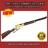 NEW,  1866 Cowboy Outlaw, BB or Pellet, 800 FPS, Lever Action