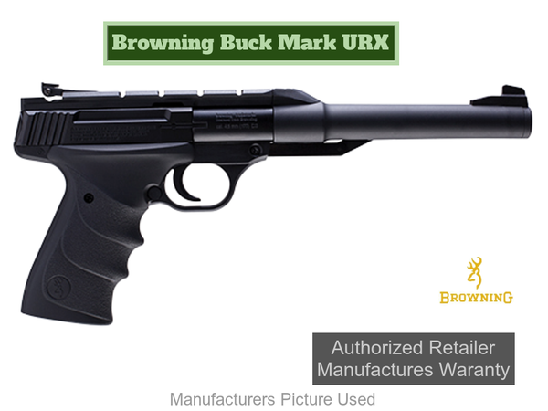 "Umarex 2252270 Browning Buck Mark Air Pistol .177 BB 5.25"" Barrel 6 Round"