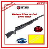 HATSAN BT65 BIG BORE CARNIVORE 30 Cal (7.62mm) QE AIR RIFLE, New w/ Warranty
