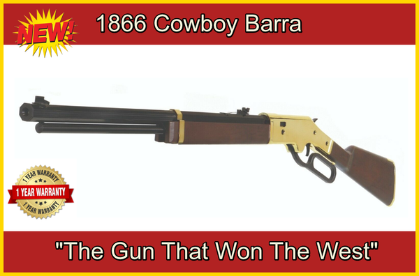 Barra 1866 Cowboy Series Lever Action Multi Pump BB | Pellet Air Rifle