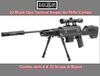 BLACK OPS .22 SNIPER RIFLE S (NITRO PISTON) .22, Hunting Power