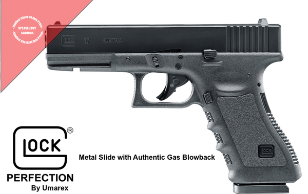 🔥 Glock 17 Blowback  BB w/ Metal Slide  GEN 3 Rapid Semi Auto- Brand New 🔥