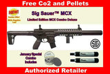 Sig Sauer MCX .177 30 Rounds CO2 Powered Semi Automatic Air Rifle Free Shipping!