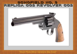 Deluxe Schofield P͟e͟l͟l͟e͟t͟ & BB Revolver, 7 Inch Top Break Co2 pistol