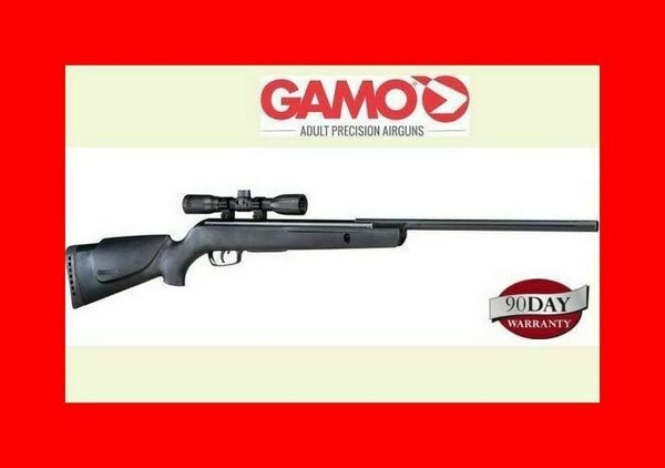 Gamo Varmint Break Barrel Air Rifle .177 Caliber Pellet Gun 4x32 Scope 1250 Fps