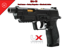 Umarex SA10 .177 Caliber CO2 Powered BB/Pellet Air Pistol Gun