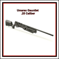 25 Cal Umarex Gauntlet PCP Air Rifle, Regulated Power to Eliminate Pests