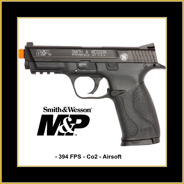 Smith & Wesson M&P 40 CO2 Airsoft Pistol  394 FPS