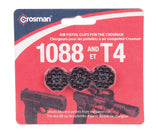 Crosman Spare Magazines 3 Count For Use With Ccice7b 1088 1008 And T4 Air Pistols