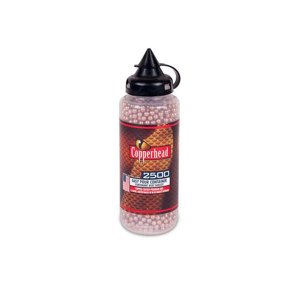 Crosman Copperhead Bbs 4.5 Mm Copper Coated 5.3 Gr. 2500 Count