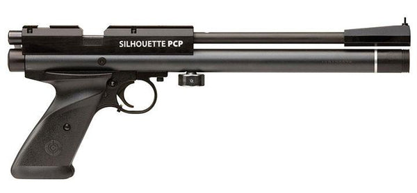Crosman 1701p Silhouette (black) Pre-charged Pneumatic  Powered Bolt-action Multi-shot 10 Meter Ta
