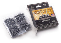 Benjamin Ultimate Hunting Pellet Assortment .22 Caliber14.3gr 400ct Incl. Domed Magnum Hollow Poi