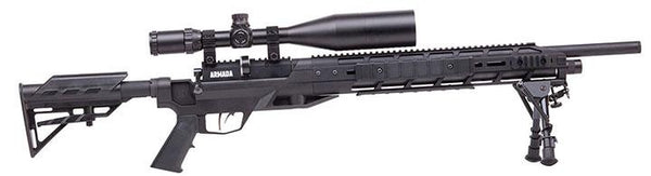 Benjamin Armada (black)pcp Powered Multi-shot Bolt Action Hunting Air Rifle With M-lok Interface