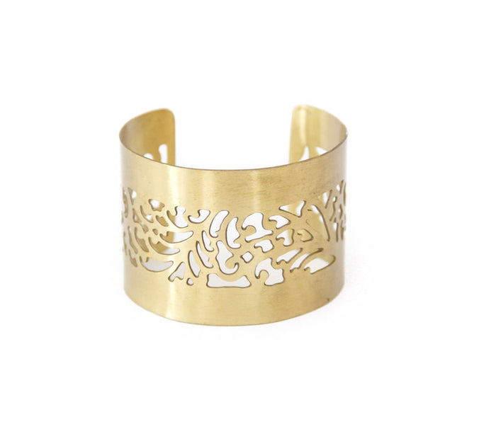 Gold Cut Out Cuff